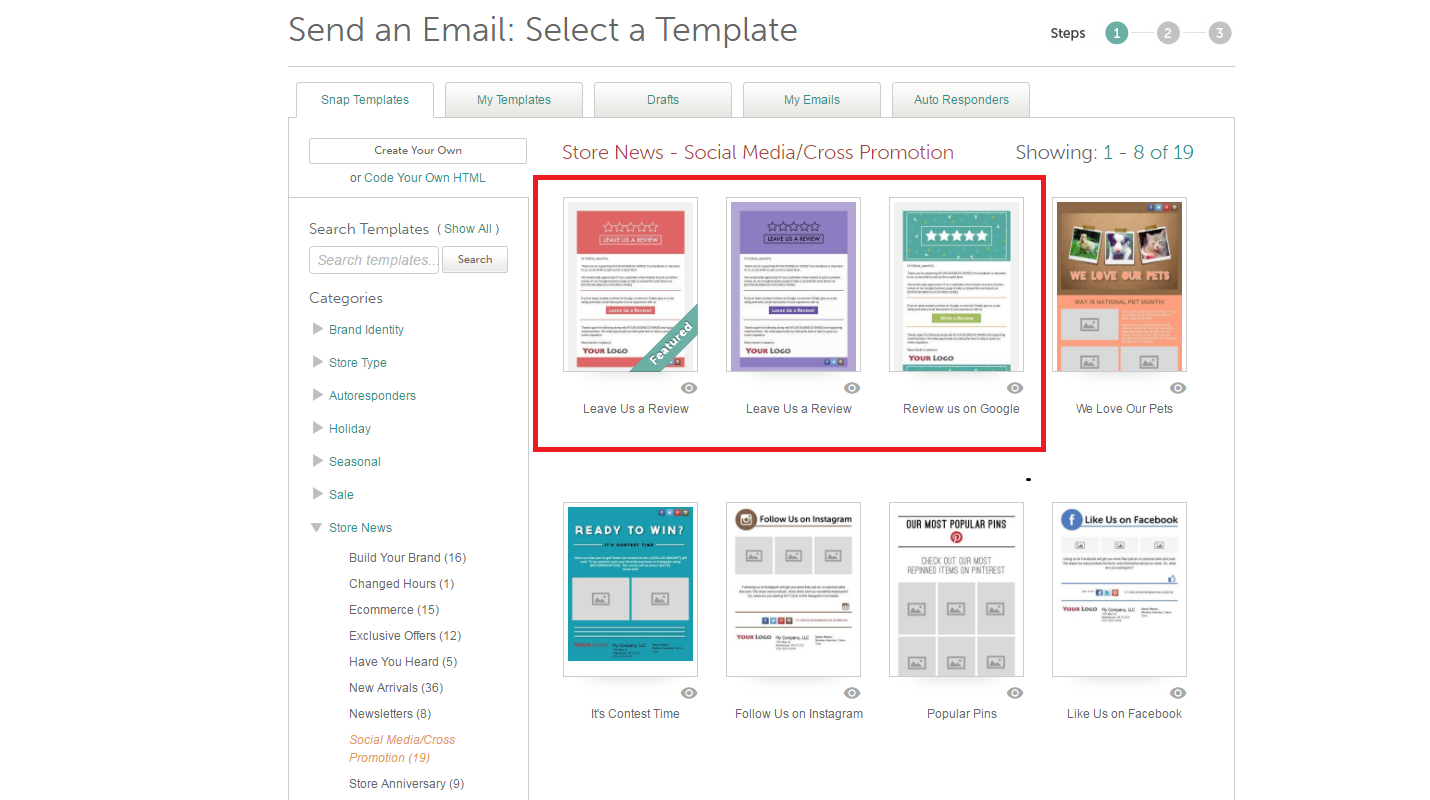 Google Review Email Templates – BROWSE HELP TOPICS: